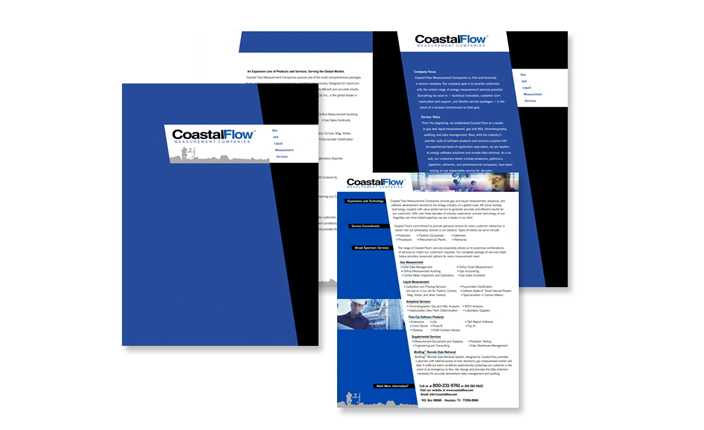 Brochure design: CoastalFlow