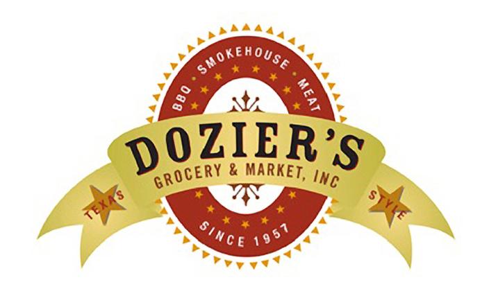 Brand logo design:  Dozier's Grocery & Meat Market