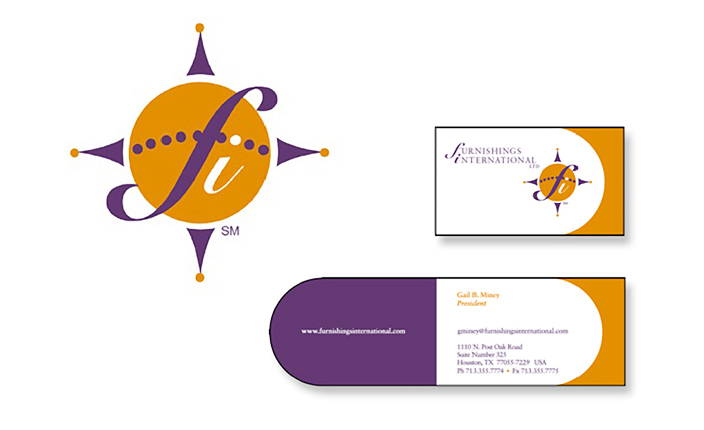 Logo and business card design:  Furnishings International