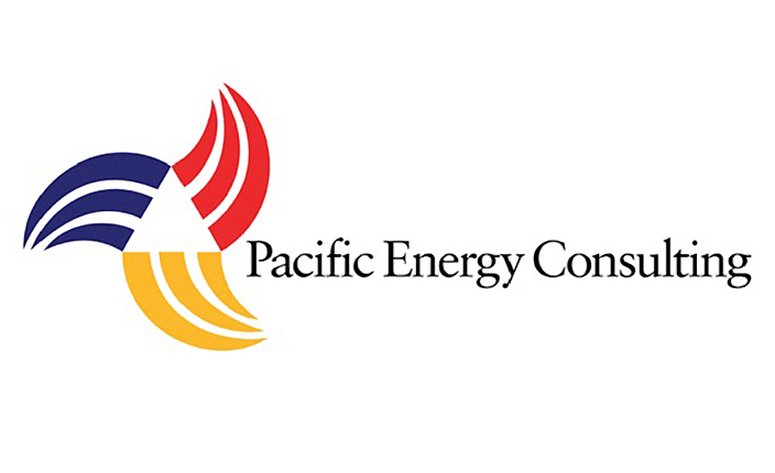 Brand logo design:  Pacific Energy Consulting