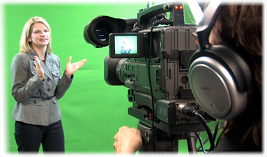 Video production for client testimonial