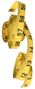 Measuring tape to evaluate content marketing results