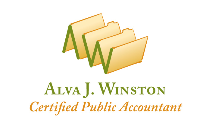 Logo design: Alva J. Winston, CPA