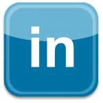 LinkedIn logo social media icon