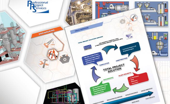 Brochure design: The Roberts Company
