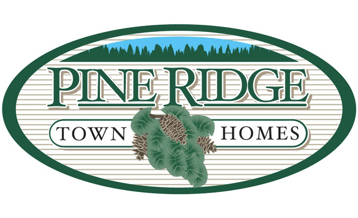 Logo design:  Pine Ridge Town Homes
